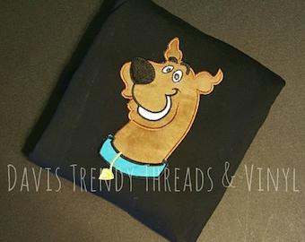 Scooby doo shirt- Scooby doo onesie-