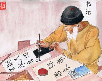 the calligrapher