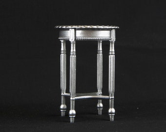 Pedestal table Louis XVI miniature 1:6