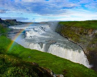 Gullfoss on the Golden Circle, Iceland