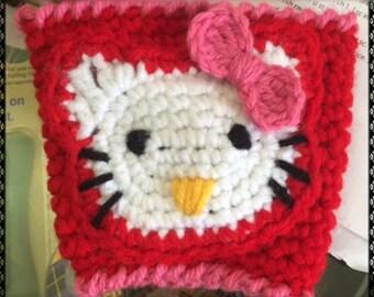 Hello Kitty Coffee Cozy
