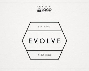 Modern Business Logo - Shop Logo - Premade Logo - Modern Logo - Text Logo - Customizable / 003