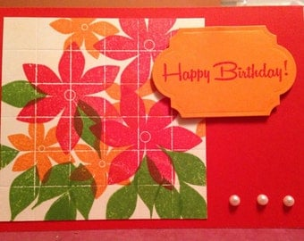 Birthday Tiled