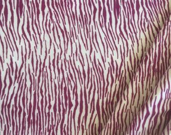 Cotton Modal Spandex - Lycra Violet Tiger Print