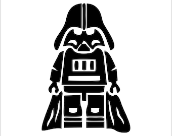 Lego Darth Vader Vinyl Sticker Decal