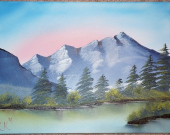 Bob Ross Style Original - Camper's Haven