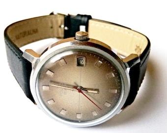 Soveit watch, Poljot 23  jewels USSR Men's Watch Poljot - 1980s, mens watch, mens watch, ussr mens watch, mechanical watch