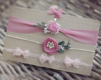 dusky pink set
