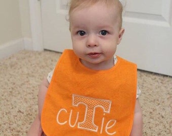 University of Tennessee Vols Cutie Baby Bib