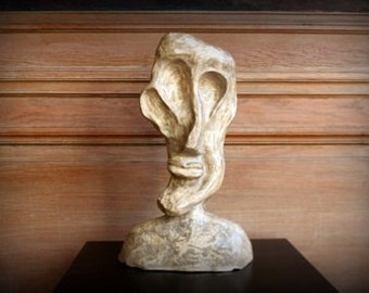 Clay Sculpture - Head / Sculpture en terre - Tête