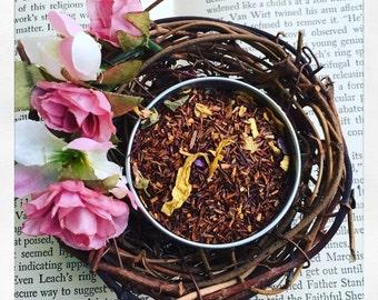 Summer Breeze Memories- Rooibos Tea- Caffeine Free- Luxury Loose Leaf Tea- all natural- gypsy soul tea- no caffeine- decaf-