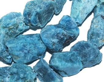 Freesize 8-10mm Natural Apatite Nugget Rough Gemstone Beads 10pc