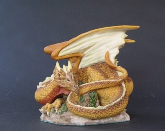 Vintage Collectible Arangast Summer Dragon