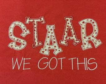 STAAR Shirt for Texas Teachers