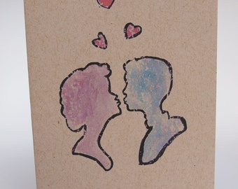 Greeting Card- Love is in the Air