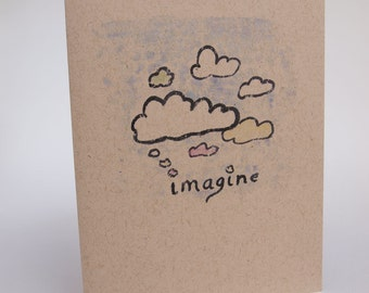 Greeting Card-  Imagin