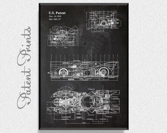 Batman and Robin Batmobile Patent Print, Batman Room Decor, Batman Wall Decor, Batman Wall Art, Batman and Robin