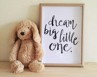 Dream Big Little One Framed Print