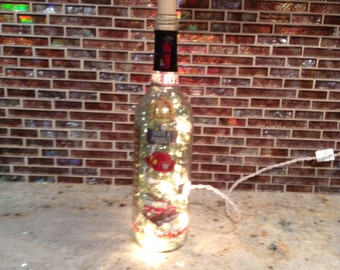 Firefighter lighted bottle 2!