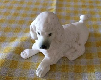 Bone China Poodle white