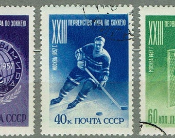 Postage Stamps 1957