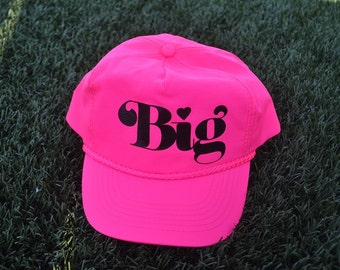 "Neon ""Big"" Sorority Hat"