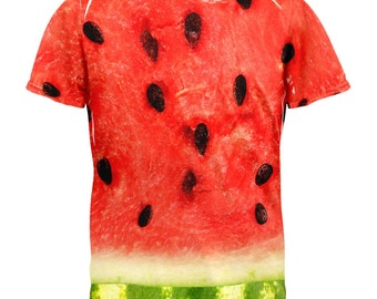 Watermelon Costume All Over Adult T-Shirt