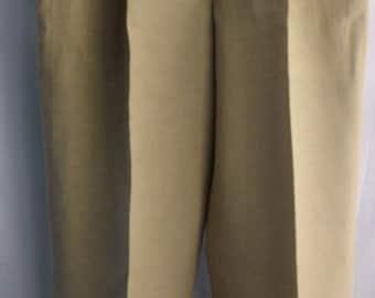 BARNARD ZINS PARIS Men's Linen/Silk Pants Sz 34/29