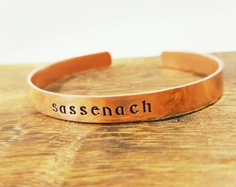 Sassenach Bracelet- Outlander Inspired