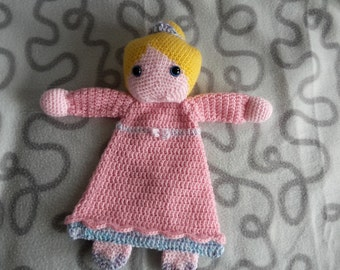 "Crochet rag doll ""Princess"""