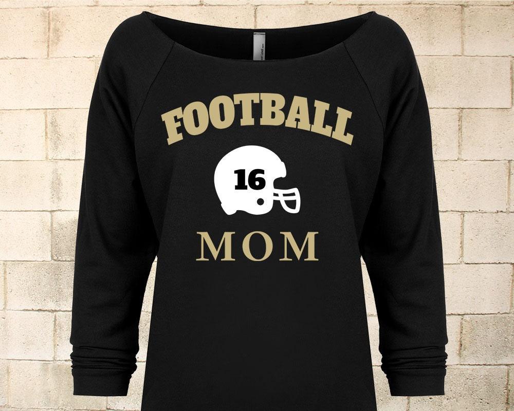Football mom shirt custom football mom shirt personalized for Custom high school shirts