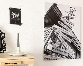 Finse keeps - canvas prints on stretcher - Hardangervidda