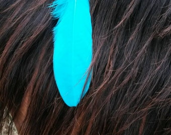 Feather Mane Clip