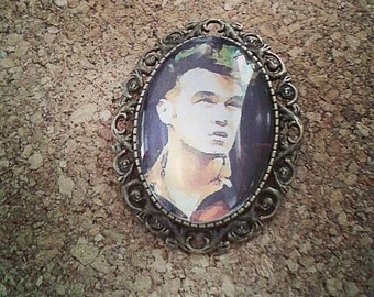 Morrissey brooch
