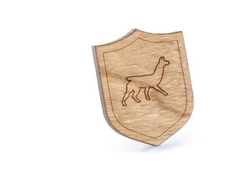 Llama Lapel Pin, Wooden Pin, Wooden Lapel, Gift For Him or Her, Wedding Gifts, Groomsman Gifts, and Personalized