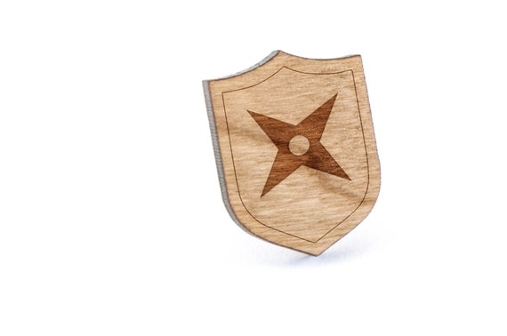 how to make a wooden ninja star