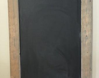 Rustic Chalkboard, Menu Board, Chalkboard, Framed Chalkboard