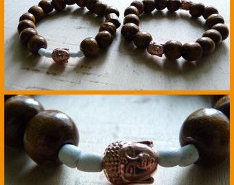 Couple bracelets Buddha