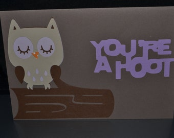 You're a hoot owl