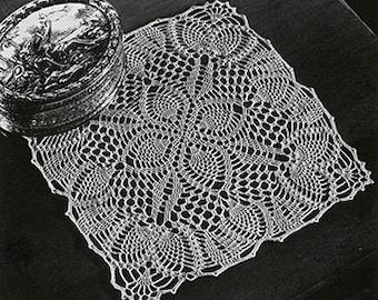 Crochet pattern doily / PDF / Vintage pattern