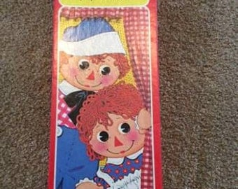1978 Raggedy Ann and Andy paper dolls
