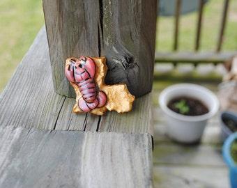 Louisiana Crawfish Pendant