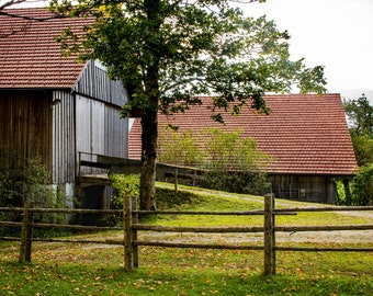 Barns in Germany / Wieskirche