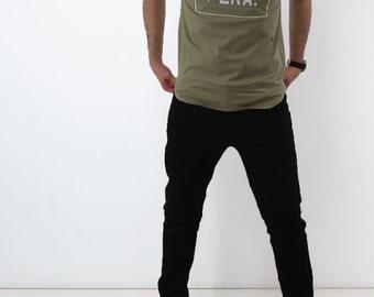 Brown short Sleeves ERA branded TShirt