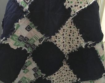 ABC Warm & Cozy Rag Quilt