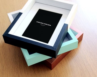 """Hand Painted 4x6"""" Picture Frame 