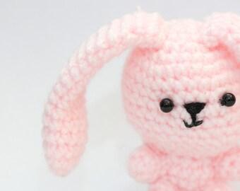 Spring bunny crochet pattern
