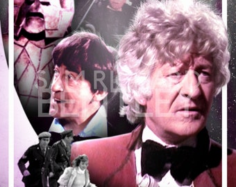 Doctor Who - 'The Three Doctors (1973)' - Print