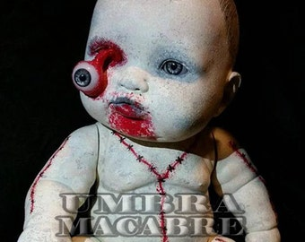 EyeGore - Hand Painted Doll