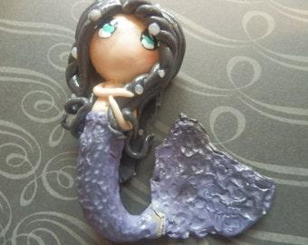 Chibi Whimsical Magical Mermaid
